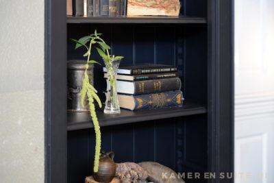 Boekenkast - kamer en suite