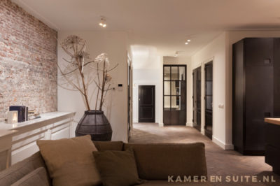 Open woonkamer modern design