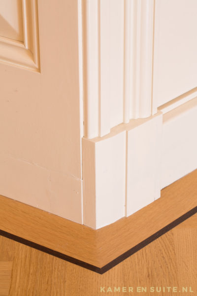 Kamer en suite - Detail van neut