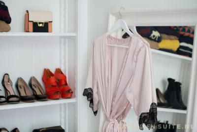 Detail walk in closet