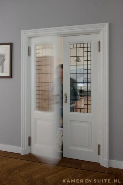 Dubbele deuren naar de keuken