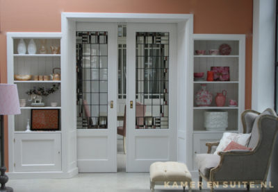 glas in lood plaatsen in deur