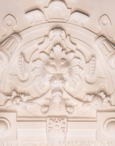 En suite - Gips ornament