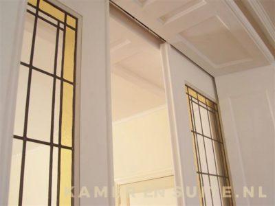 glas in lood kamer en suite deuren