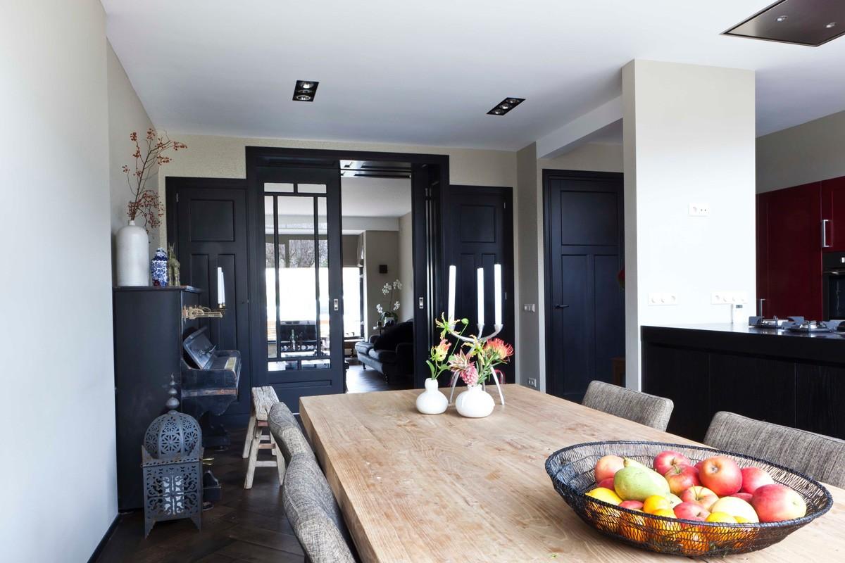 Kamer en suite interieurbouw bezoek onze showroom - Lounge en keuken in dezelfde kamer ...