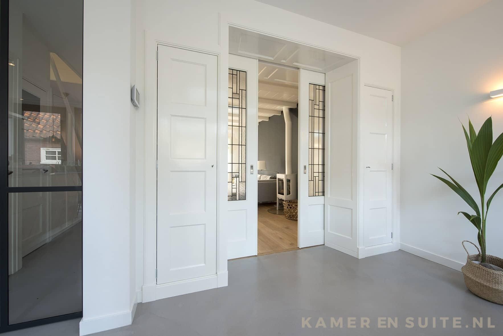 Stalen Ensuite Deuren : Kamer en suite deuren maak nu een afspraak thuis of in onze