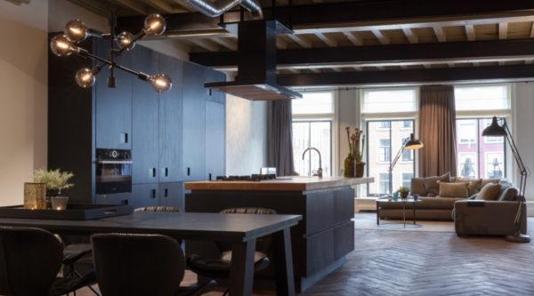 Mooie loft met klassieke details
